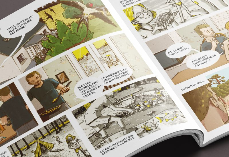 illustrateur enfance Bretagne